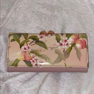 TED BAKER Peach Blossom Wallet
